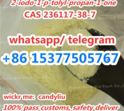CAS 236117-38-7 2-Iodo-1-(4-methylphenyl)-1-propanone powder  (Signal/Whatsapp:+8615377505767)