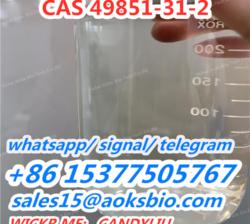supply 49851-31-2, buy 49851-31-2,China 49851-31-2 raw liquid, sales15@aoksbio.com
