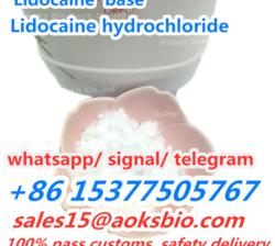 Lidocaine Powder CAS 137-58-6 Local Anesthetics China Factory Price,sales15@aoksbio.com