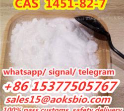 raw materials 2-Bromo-4-Methylpropiophenone cas 1451-82-7 from china factory, sales15@aoksbio.com